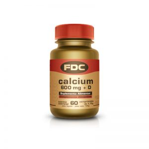 Fdc calcium 600 mg + d 60 comp