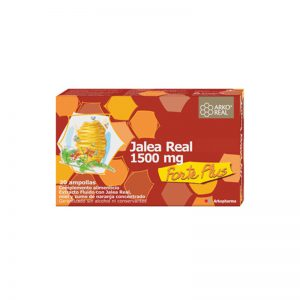 Jalea real forte plus 1500 mg 20 amp