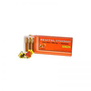 Revital jalea real + vitaminas ampollas